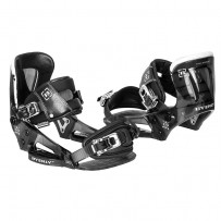 System Bindings Botas Wakeboard/Kite - Byerly Preto