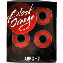 Rolamentos Skate - Blood Orange Abec-7 - 8 unidades