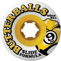 Rodas Sector 9 Butterballs 65mm 80a - 4 unidades
