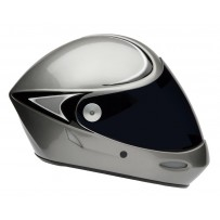 Longboard Capacete - Icaro 4 Fight Cut Silver Downhill