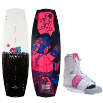 Kit Liquid Force - Prancha Melissa Hybrid 2014 135cm - Bota Alpha 6-10